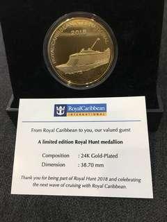 Limited edition royal hunt medallion
