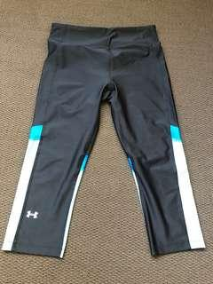 Under armour black 3/4 leggings