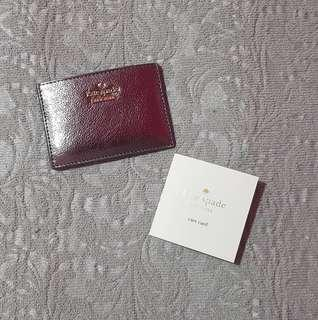 Kate Spade Highland Drive Card Holder Anthracite
