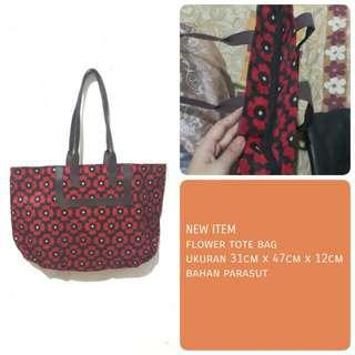 NEW ITEM Tote Bag Motif Bunga