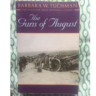 (Free Shipping w/in MM) The Guns of August, Barbara Tuchman, Pulitzer Prize winning classic book about WW1