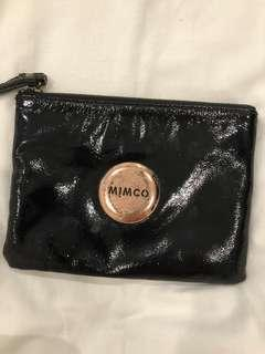 Black mimco medium pouch