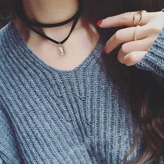 🚚 短項鍊。鎖骨鏈。韓國飾品。短鏈