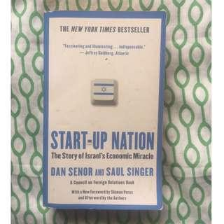 (Free Shipping w/in MM) Start-Up Nation: The Story of Israel's Economic Miracle, Dan Senor & Saul Singer, New York Times Best Seller
