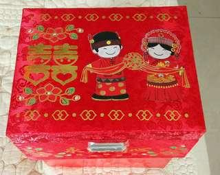 囍音樂盒 手飾盒 結婚 婚禮 賀禮 Wedding Musical Box