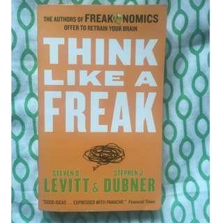 (Free Shipping w/in MM) Think Like a Freak, Steven Levitt & Stephen Dubner