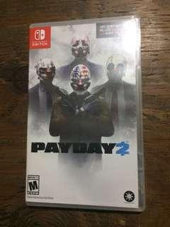 Nintendo Switch game Payday 2