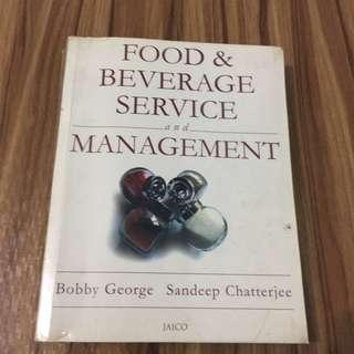 Food & Beverage Service and Management