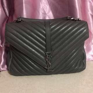 YSL - COLLEGE LARGE IN MATELASSÉ LEATHER