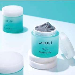 ✨Authentic Instock Laneige Mini Pore Waterclay Mask (70ML)