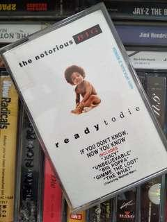 "The notorious BIG ""ready to die"" kaset"