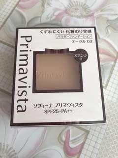 Sofina Primivista Foundation Pact 粉餅