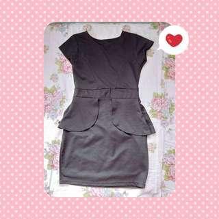 Plain Black Dress
