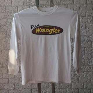 VINTAGE Good Year Team Wrangler Long Sleeved Collectible Merchandise Shirt XL