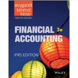 🚚 會計 原文書 financial accounting IFRS EDITION