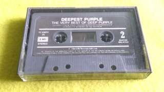 DEEP PURPLE. cassette tape not vinyl record