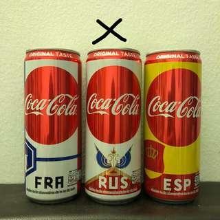Coca-cola Thailand Fifa World Cup Tin Version