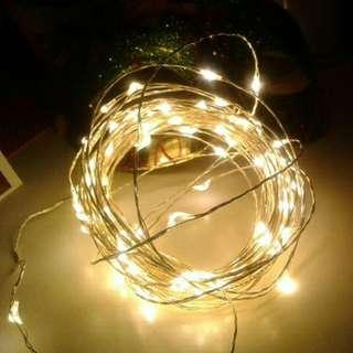 3M 30 LED Copper/Silver Wire Battery Operated Fairy Light