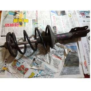 Iswara LMST Original Front Absorber with Spring Attached