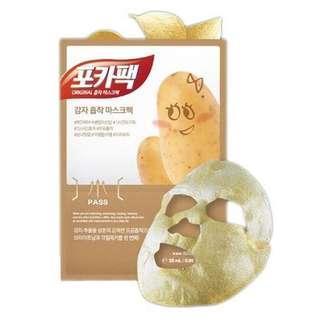 Poka Pack Potato Mask