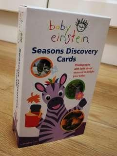 Baby Einstein FlashCards Seasons Discovery