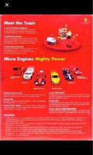 Lego Ferrari 2012 series full set