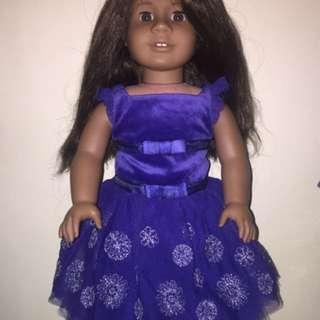 Authentic American Girl Doll Snowflake Ball Gown Repriced