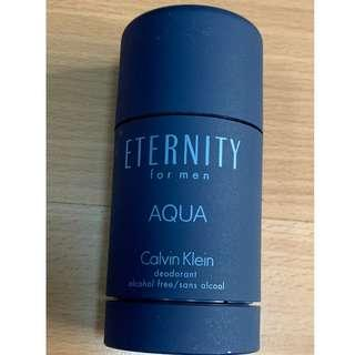 Calvin Klein - ETERNITY AQUA for Men Deodorant Stick (Authentic)