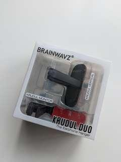 BRAINWAVZ Krudul Duo (earphone hanger)