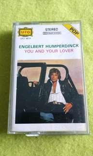 ENGELBERT HUMPERDINCK . cassette tape not vinyl record
