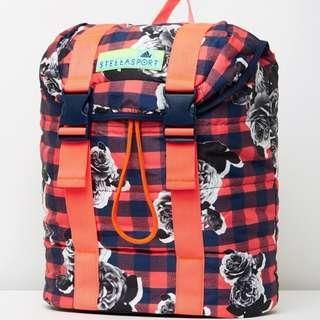 Flap Printed Backpack