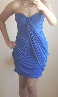 Royal Blue bodycon party / cocktail dress