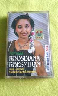 ROOSDIANA KOESMIRAN (Rare) cassette tape not vinyl record