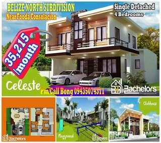 4Bedroom Single Detached House and Lot in Consolacion Cebu