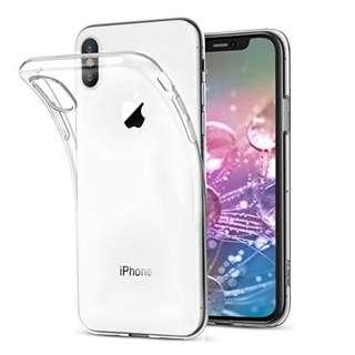 iPhone Xs TPU Clear Case