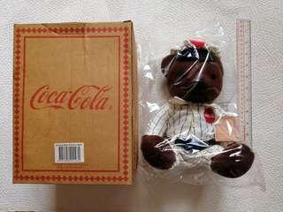 可口可樂懷舊熊公仔 Coca Cola Antique Bear Plush Toy