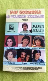 POP INDONESIA  (Rare) cassette tape not vinyl record