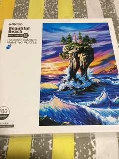 100 pieces puzzle