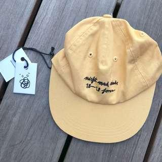 Misfit - Cities With Girls Cap Gold Yellow Hat