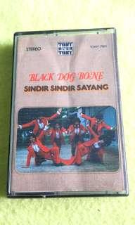 BLACK DOG BONE. cassette tape not vinyl record
