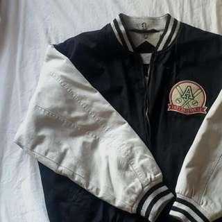 Vintage Oversized Bomber Jacket