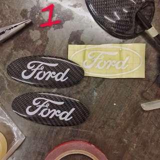 Ford Focus mk3.5車標