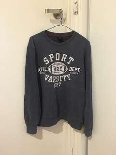 Korean Styled Sports Varsity Top/Jumper