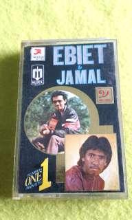 EBIET & JAMAL  cassette tape not vinyl record