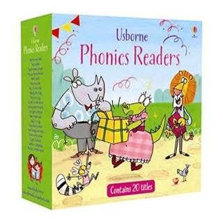 Usborne Phonics Readers @$3 per books if you buy set of 20