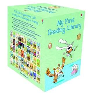 Usborne Phonic Readers at $3 if bought in set of 50 books