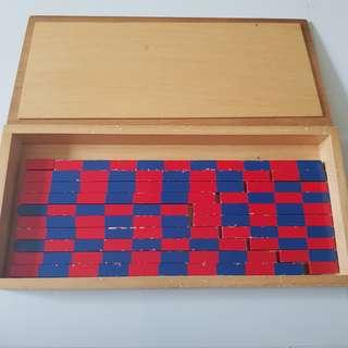 Montessori Small Number Rods