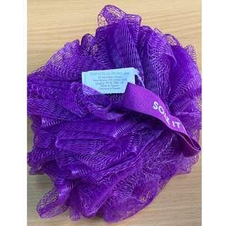 Bath & Body Works Purple Mesh Shower Sponge (Authentic)