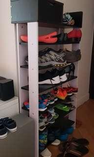 Brand new 7-tier new shoe rack (60x24x118.4 cm)