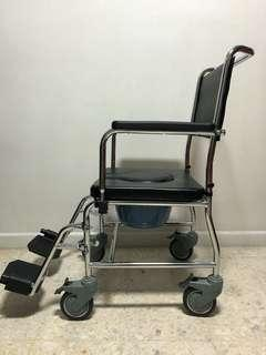 Assisted Wheelchair for Shower